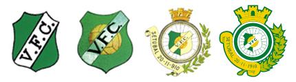 Evolucao logotipo Vitória FC