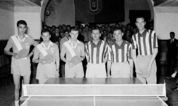 Equipa Vitória FC - Ténis Mesa 1953