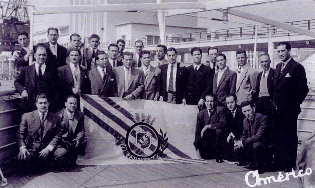 Comitiva na viagem à Madeira - 1950