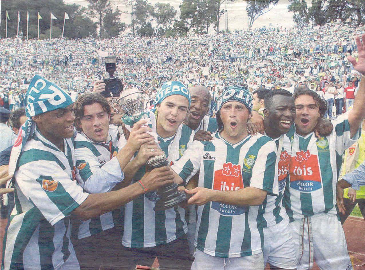 Festejos Taça de Portugal 2004/2005 - Vitória FC