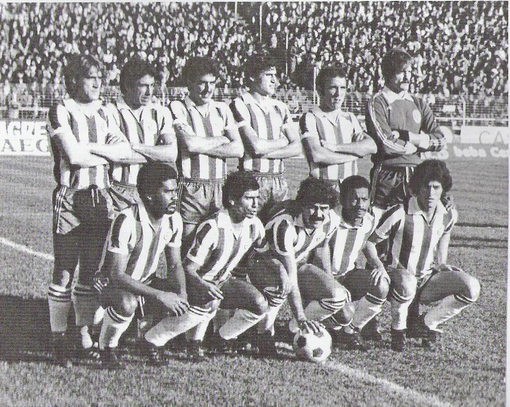 Vitória FC - Época 1980/1981